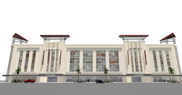 Rendering of the future Joske's building. Image courtesy of SA Partnership.