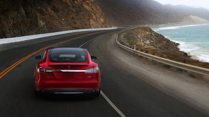 Tesla's Model S. Photo courtesy of Tesla Motors.