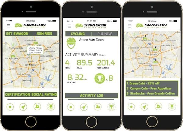 A sneak peek at the new Swagon app.