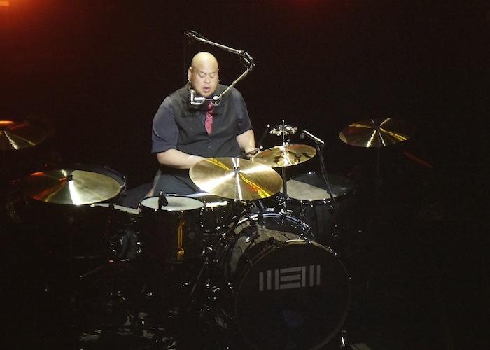 Drummer Abe Laboriel, Jr. performs with Paul McCartney at the Tobin Center. Photo by Alan Weinkrantz.