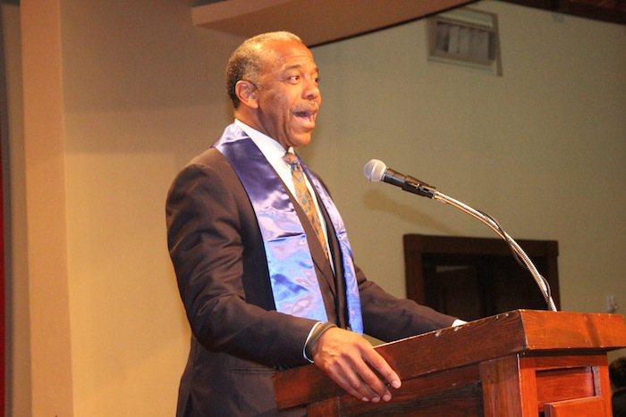 Leadership honoree Dr. Bernard A. Harris was the first African American to walk in space. His Foundation, the Harris Foundation brings STEM education to K-12 public school children. Courtesy photo.