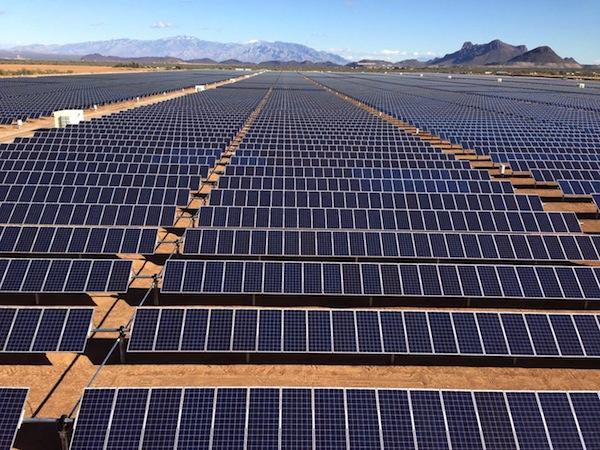 Solar project in Picture Rocks, Arizona. Photo courtesy North American Development Bank.