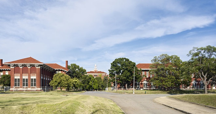 St. Elizabeth's East Campus in Congress Heights. Rendering by EcoDistricts.