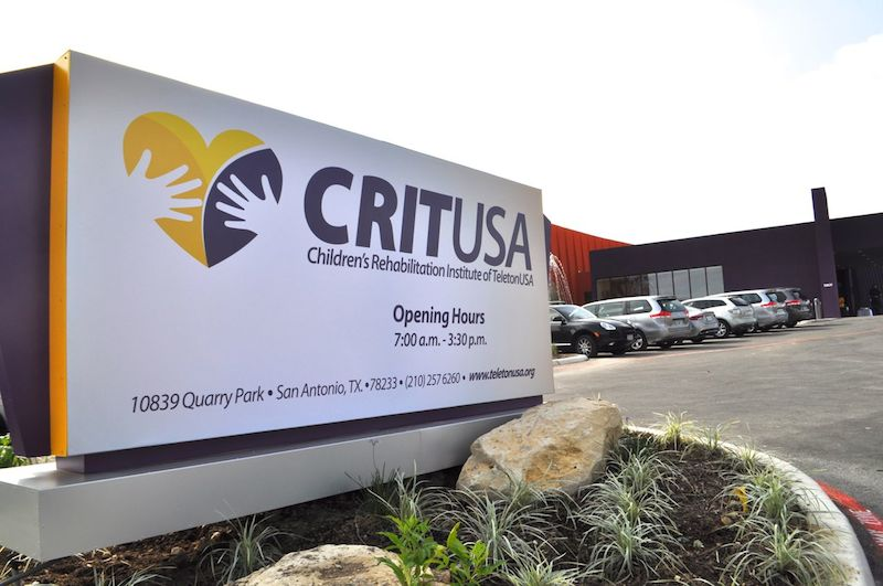 The main entrance to CRIT USA. Photo by Iris Dimmick.