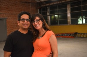 Carlos and Michelle Cruz, co-chairs of AIA COTE. Photo by Gretchen Greer.