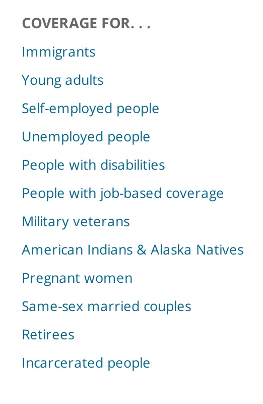 From www.healthcare.gov.