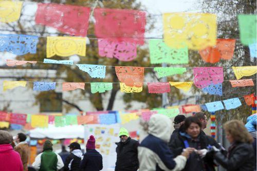 San Antonians enjoying last year's Tamale! Holiday Festival. Photo courtesy of Pearl.