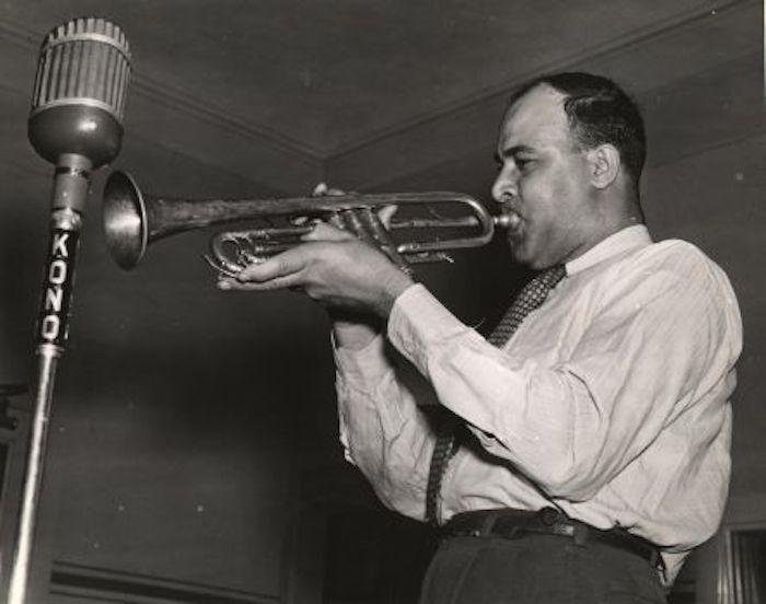 Historic photo of Don Albert.