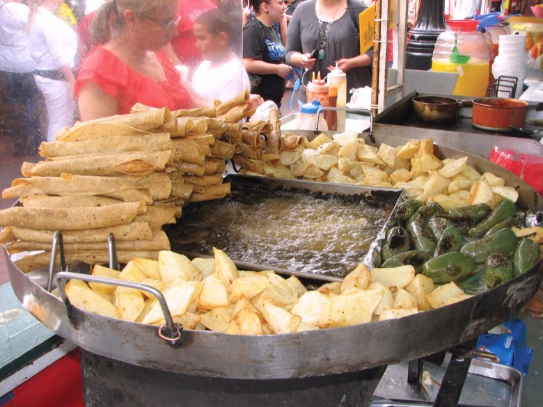 Food at The Market Square. Photo courtesy of the Department of Culture and Creative Development.