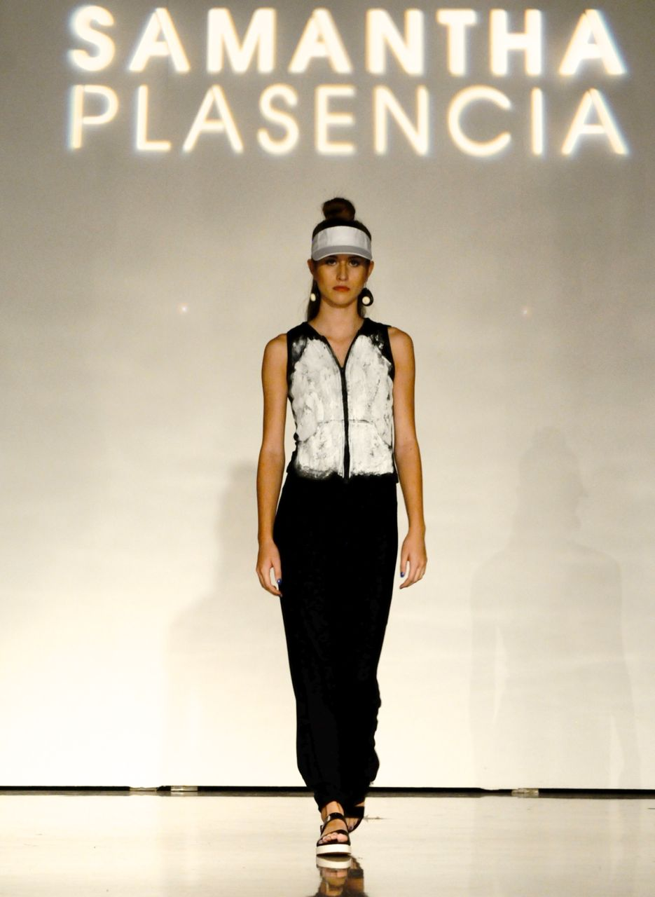 Day Two of Fashion Week San Antonio included the solo runway show for local designer, Samantha Plasencia, at the Alameda Museum of Art. Photo by Kristian Jaime.