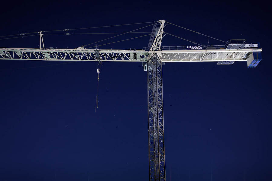The Pearls Towner Crane Photo by Scott Martin.