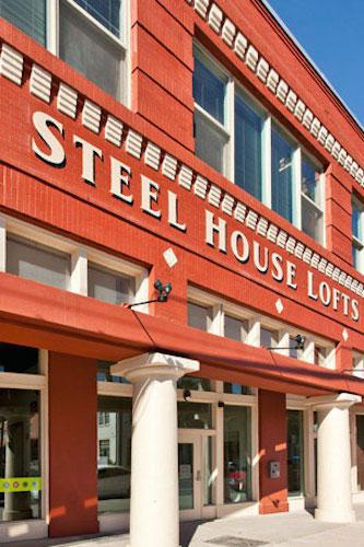 The Steel House Lofts. Courtesy photo.