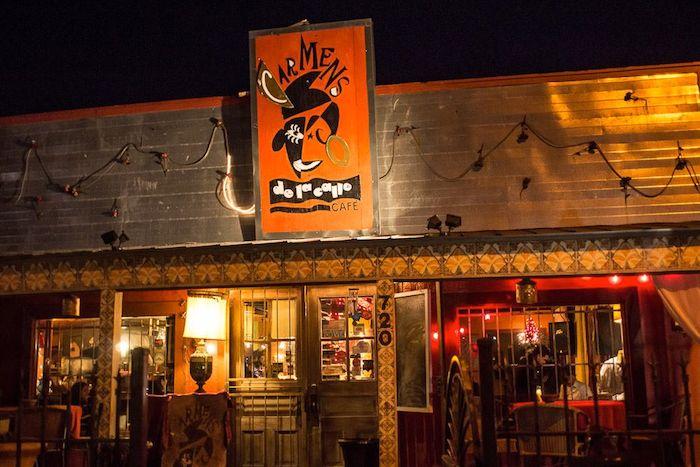 Carmen de la Calle's original location at 720 Mistletoe. Photo by Matt Bynum.