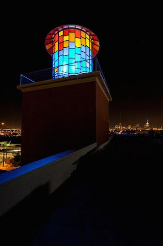 The Steel House Lofts beacon. Courtesy photo.