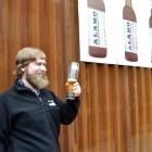 Alamo Beer Company staff reveals branding for three new microbrews. Photo by Iris Dimmick.