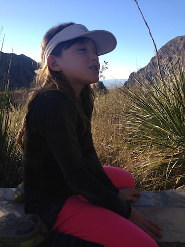Campbell Taylor at Big Bend National Park. Photo by Michael Taylor.