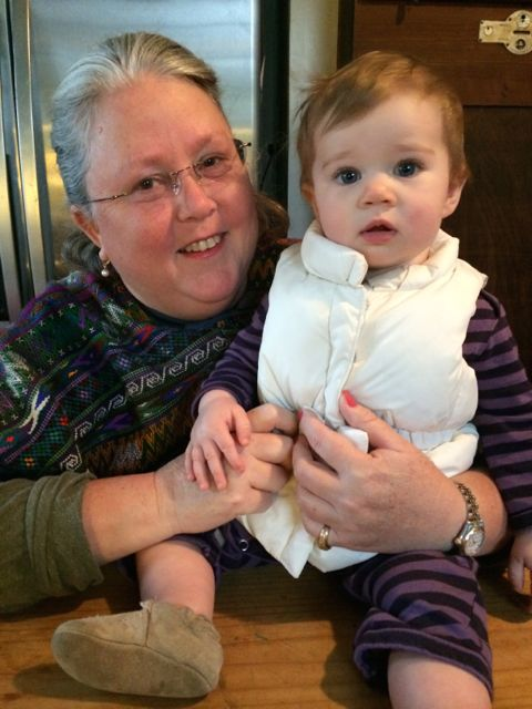 Diana Perry with Moira McNeel. Photo by Bekah McNeel.