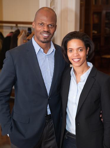 Shokare Nakpodia and his wife Tracy. Photo by Sarah Brooke Lyons.