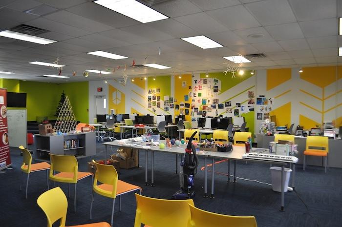 Family Service Association's Best Buy Teen Tech Center. Photo by Iris Dimmick.