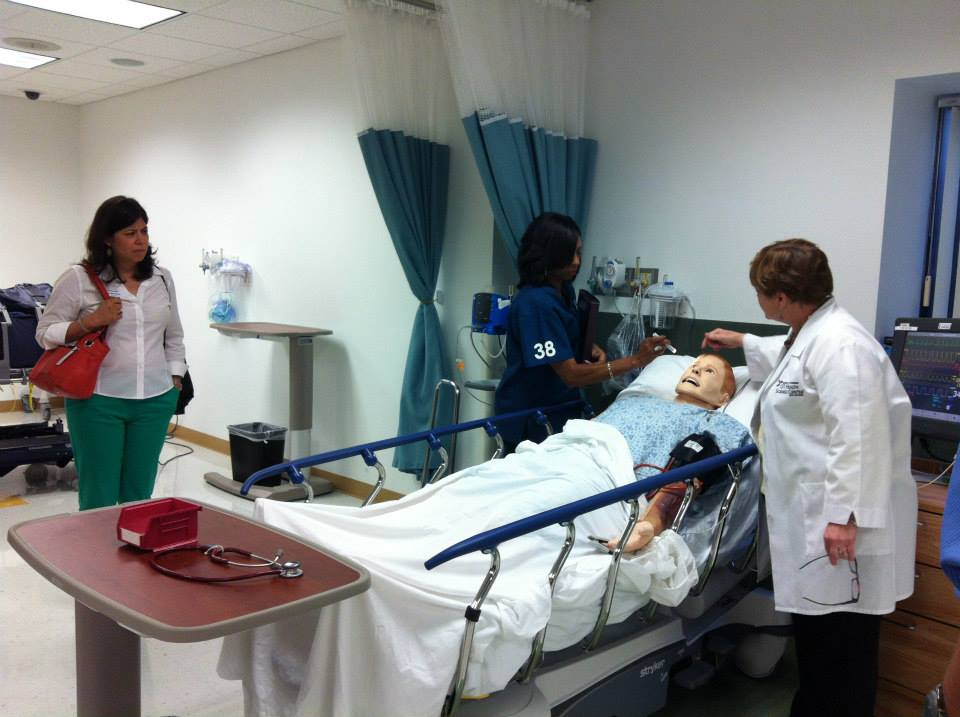The 39th Leadership San Antonio class visits local medical facilities during its Health and Biosciences Day tours. Courtesy photo.