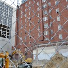 The lot next to the Maverick Building is to become a hotel. Photo by Iris Dimmick.