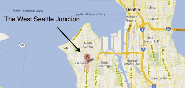 West Seattle & The Junction
