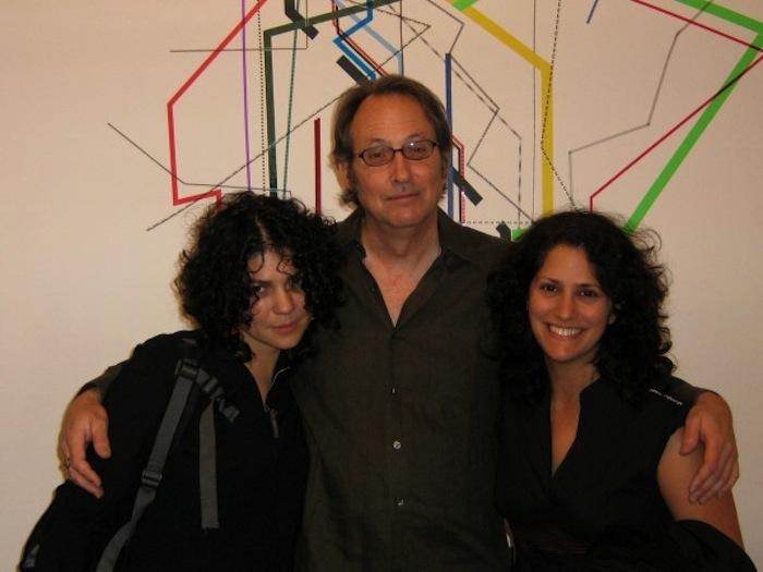 (From left to right): Julieta Aranda, Hills Snyder, and Regine Basha pose for a photo. Image courtesy of Chuck Ramirez.