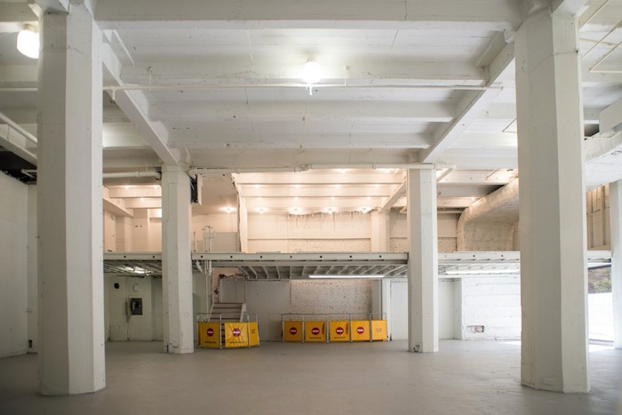 Interior of the Milam Building before the AME Collaborative pop-up. Photo by David Rangel.