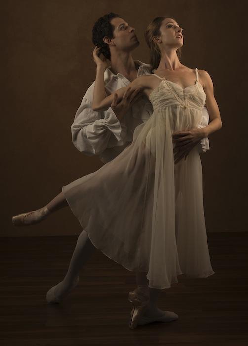 """Sally Turkel and partner Yosvani Cortellan will perform """"Romeo and Juliet"""" at the Tobin Center during Valentine's day weekend. Photo by Alexander Devora/courtesy of Ballet San Antonio."""