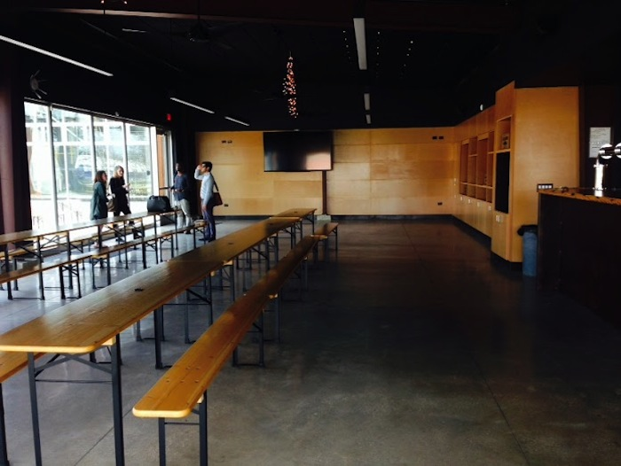 Inside the Alamo Beer Hall. Photo by Kimberly Todd.