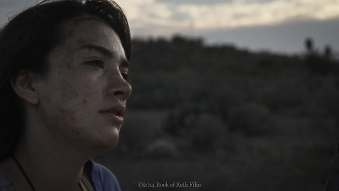 """Casandra Canales stars in """"Book of Ruth."""" Courtesy image."""