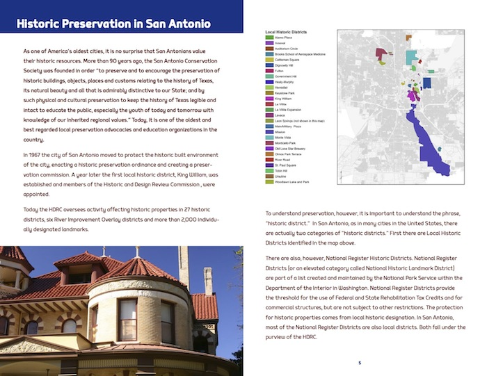 """From PlaceEconomic's report: """"Historic Preservation: Essential to the Economy and Quality of Life in San Antonio."""""""