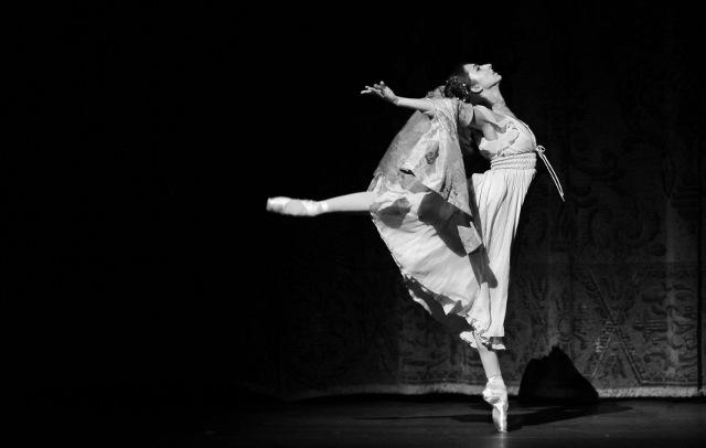 Sally Turkel as Juliet. Photo by Alexander Devora/courtesy Ballet San Antonio.