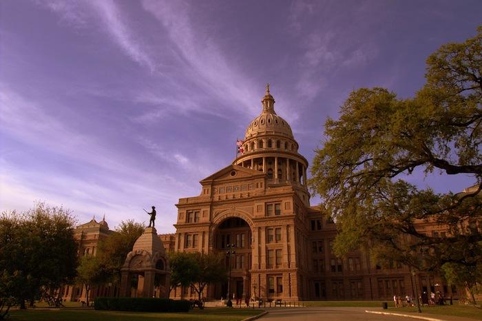 Texas State Capitol building in Austin. Photo by Stuart Seeger. https://www.flickr.com/photos/stuseeger/4514590008/in/photolist-bWQ7Lz-7QvTiu-7Qsyw8-7Qsyi2-7Qsy5p-bqdc4N-5TvoY8-cecu7L-an1TG7-amY54k-7SWsjL-D6ySN-an1UvN-an1Vhw-an1TLs-amY5j6-amY6qH-kYv7jc-7oLm68-5WudwA