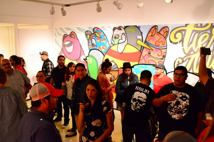 Mural by Carlos, Miguel, and Aurturo Donjuan and Isaias Torres at Gravelmouth. Photo by Page Graham.