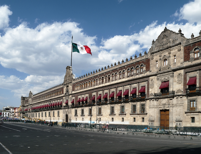 The National Palace is the seat of the federal executive in Mexico. It is located on Mexico City's main square, the Plaza de la Constitución. Courtesy photo.