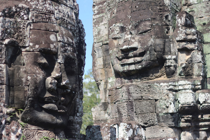 Taken at the Angkor Wat temple complex in Cambodia. Photo by Joan Vinson.