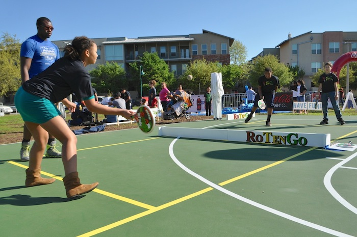 RoTenGo was a huge hit during the Labor Street Park grand opening. Photo by Iris Dimmick.