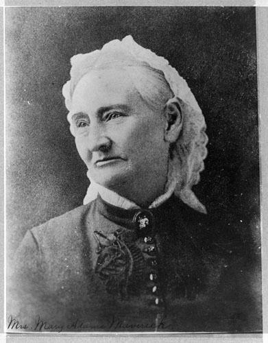 Mary Adams Maverick. Courtesy of The Dolph Briscoe Center for American History.