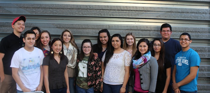 The faces of the San Antonio Youth Commission. Courtesy photo.