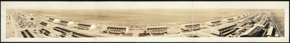 An historic photo of Kelly Air Force Base. Courtesy of the U.S. Air Force.