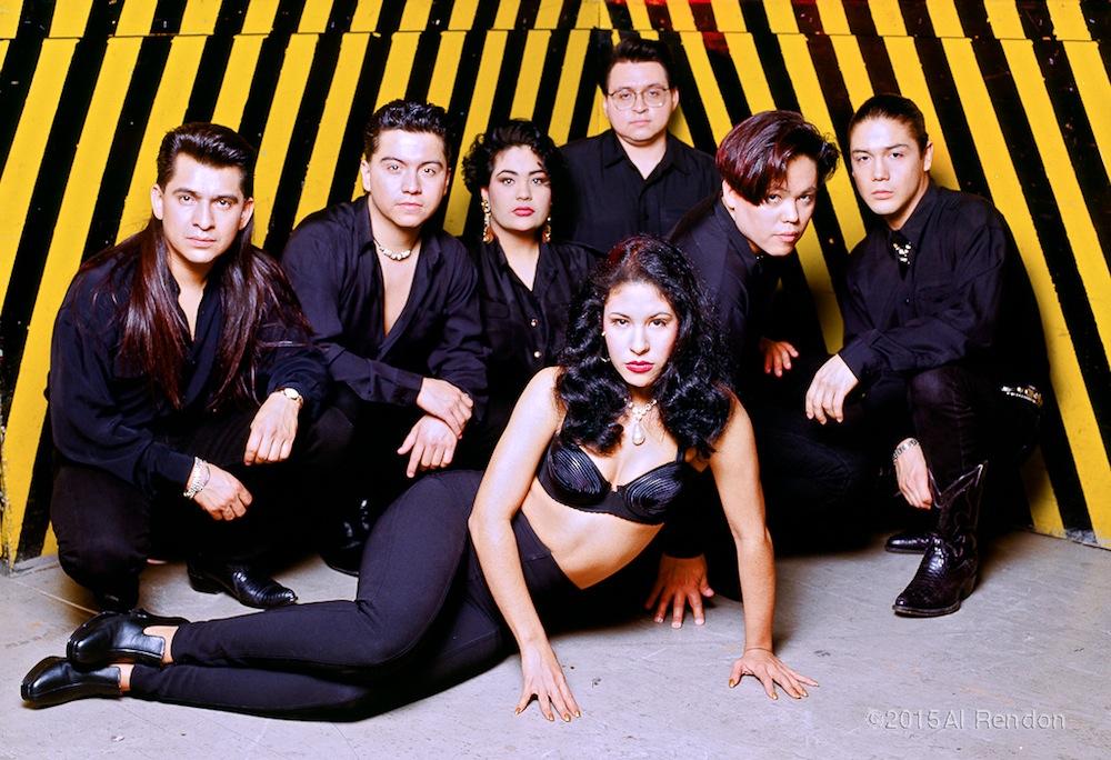 Selena and Los Dinos. Photo by Al Rendon.