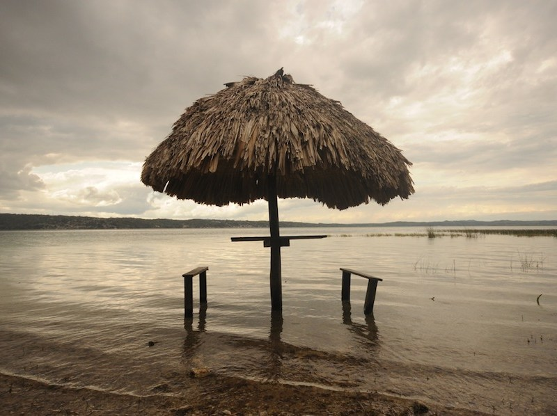 Lake Peten Itza in Guatemala. Photo by Everett Redus.
