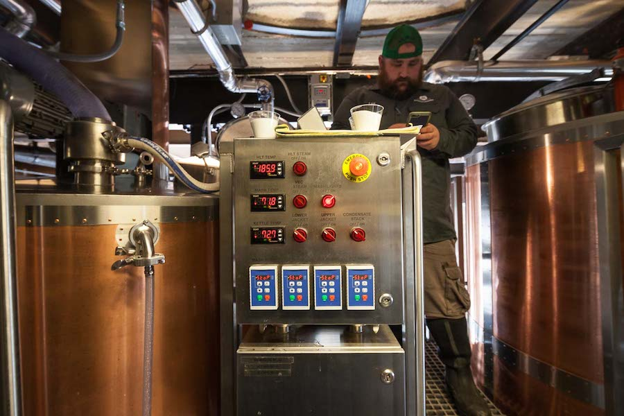 Southerleigh Fine Food & Brewing's Lesat Brew Kettle. Photo by Scott Martin.