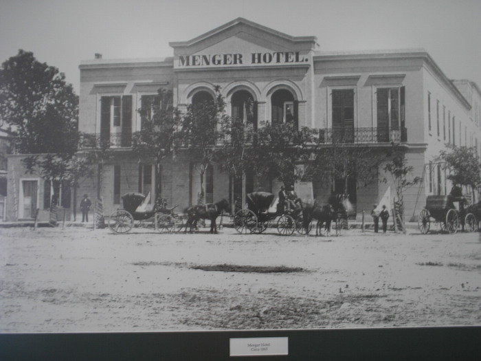 Menger Hotel. Historical photo.