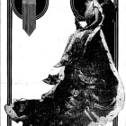 """Josephine Woodhull, """"Her Majesty, the Queen of Arcady,"""" featured in a 1915 issue of the San Antonio Light."""