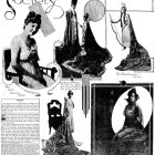 Fiesta royalty featured in a 1915 issue of the San Antonio Light.