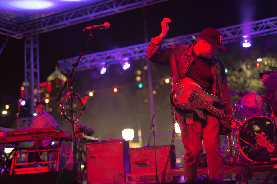 Portugal the Man perform at the La Villita Historic Arts Village during Maverick Music Festival 2015.