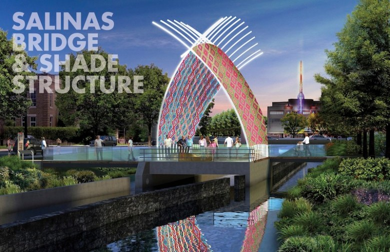 Design rendering for San Pedro Creek Improvements Project.
