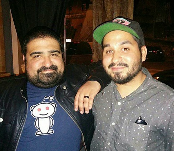 Robert (left) and Christopher Hernandez. Courtesy photo.